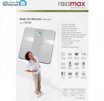 ترازوی سنگین وزن آنالیز Rossmax