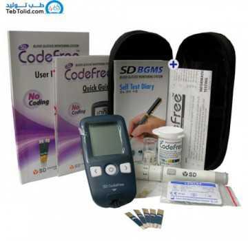 دستگاه تست قند خون SD Codefree