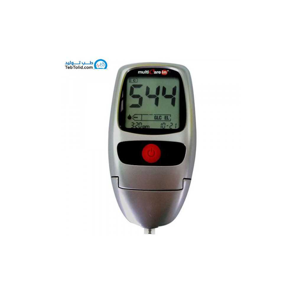دستگاه سه کاره سنجش کلسترول، تری گلیسیرید و قند Multicare-in