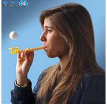 تمرین دهنده تنفسی پاوربریز flow-ball