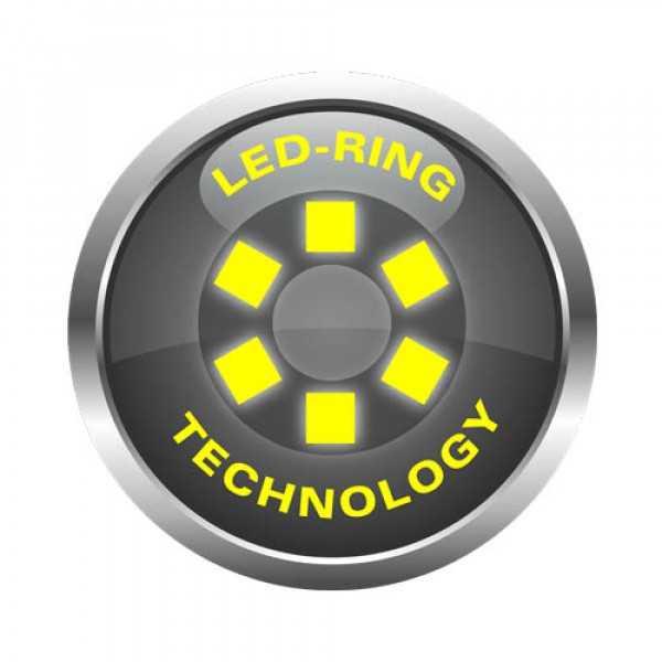 اتوسکوپ جیبی شارژی لوکسامد با نور LED