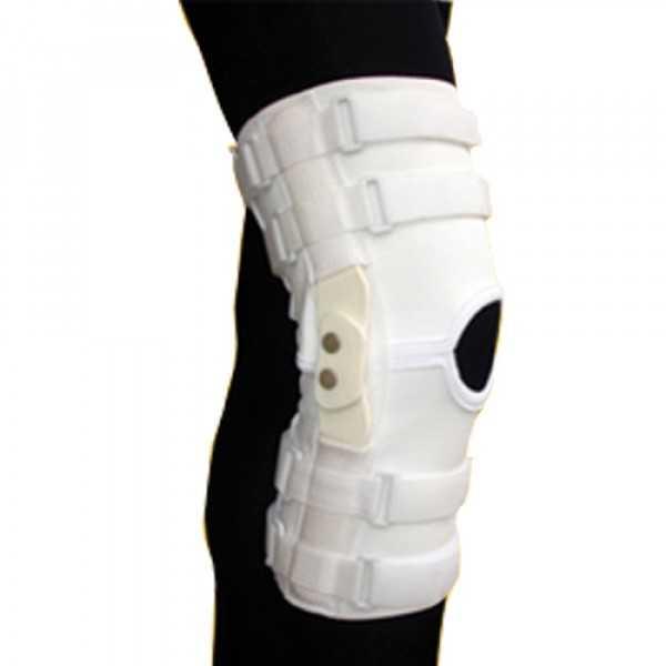 زانوبند مفصل دار کشی (با مفصل چند محوره پلی کربنات) طب و صنعت