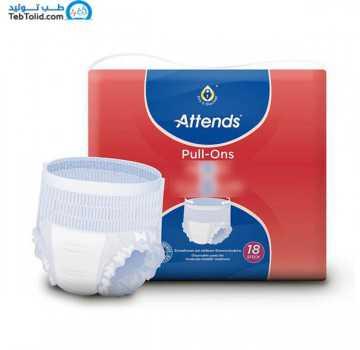 پوشینه بی اختیاری بزرگسالان اتندز Pull-Ons