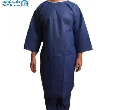 لباس یکبار مصرف بیمار