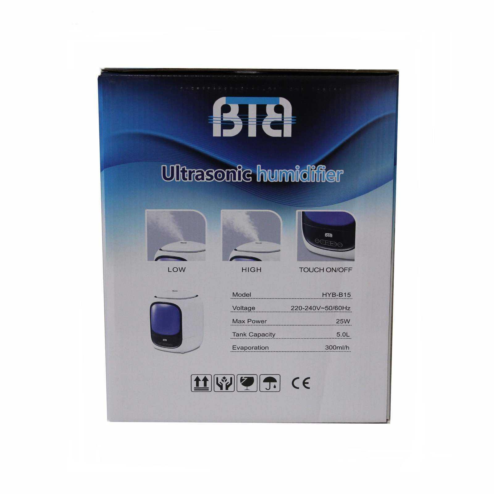 دستگاه بخور سرد بی تی بی مدل HYB-B15