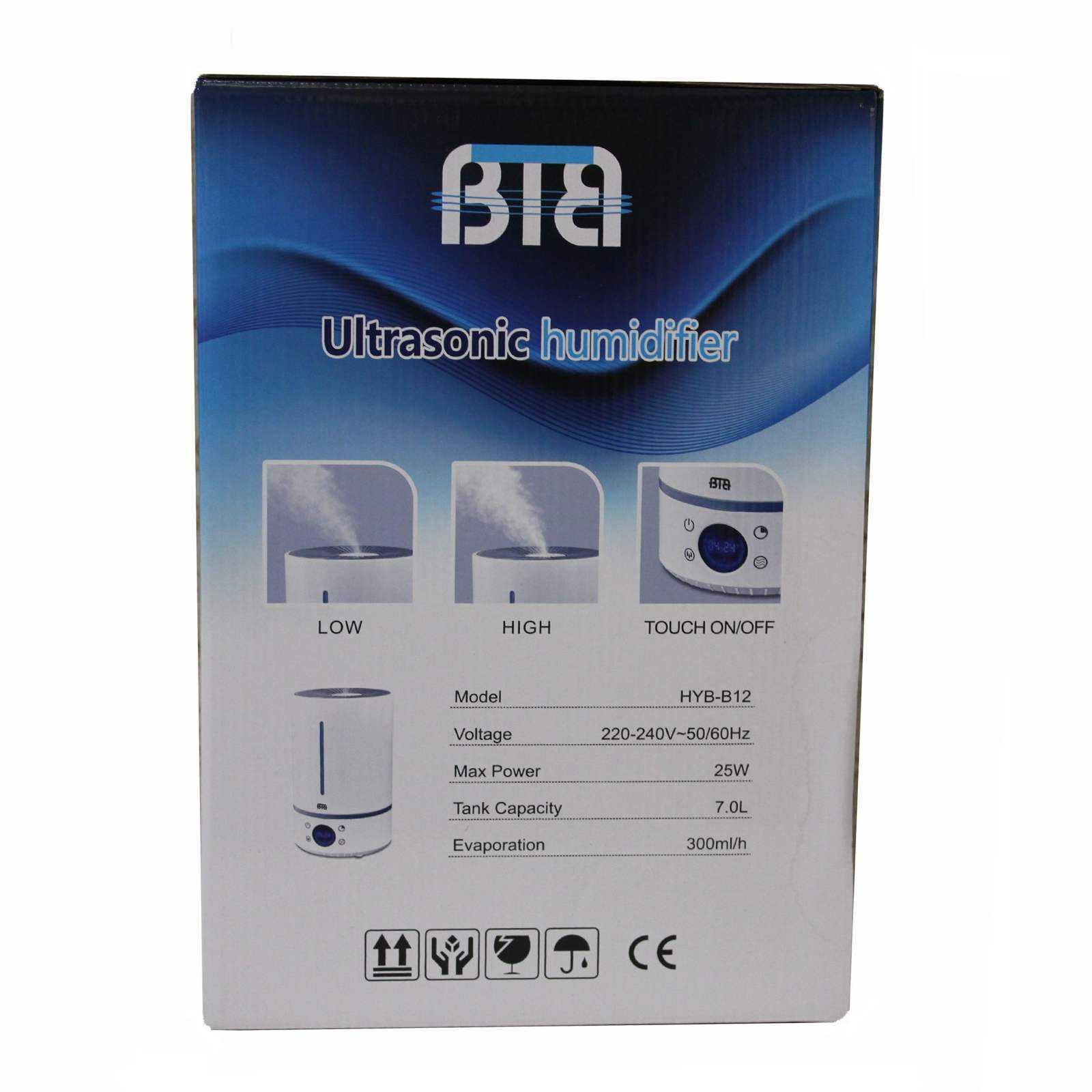 دستگاه بخور سرد بی تی بی مدل HYB-B12
