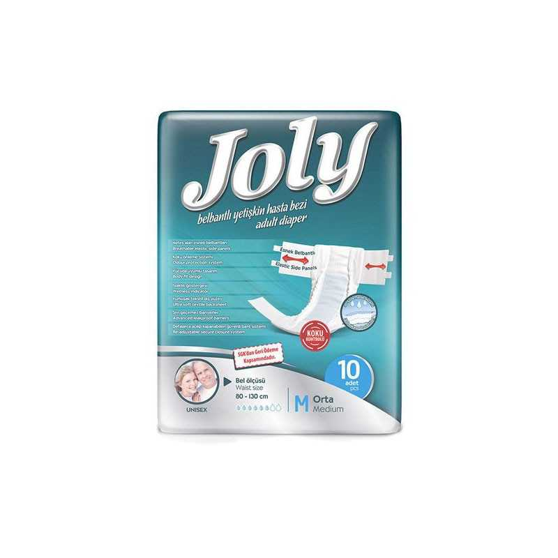 پوشک بزرگسال چسبی JOLY سایز medium