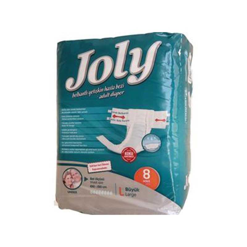 پوشک بزرگسال چسبی JOLY سایز large