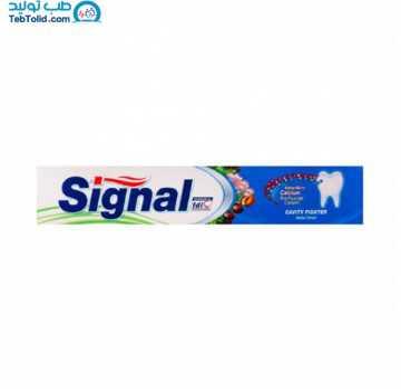 خمیر دندان ضد پوسیدگی گیاهی سیگنال