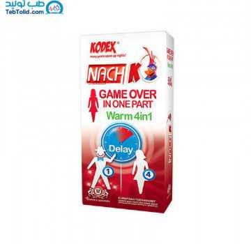 کاندوم کدکس مدل Lady Game Over Warm بسته 12 عددی
