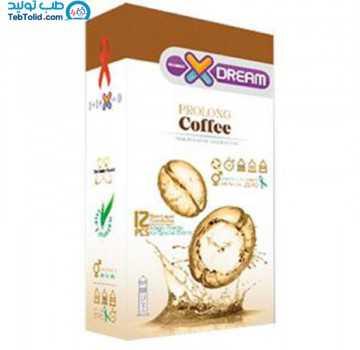 کاندوم قهوه ایکس دریم بسته 12 عددی