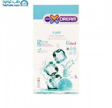 کاندوم سرد ایکس دریم بسته 12 عددی