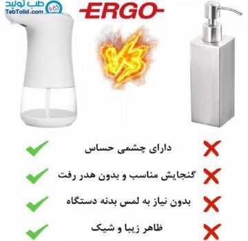 دستگاه الکل پاش اتوماتیک ارگو Ergo