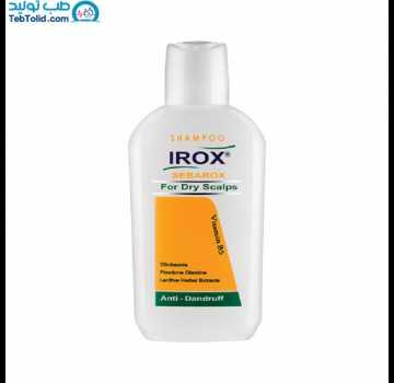 شامپو ضد شوره سباروکس مخصوص موهای خشک ایروکس حجم 200 میلی لیتر