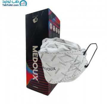 ماسک 5لایه سه بعدی پلاس 3D PLUS مداکس بسته 25 عددی