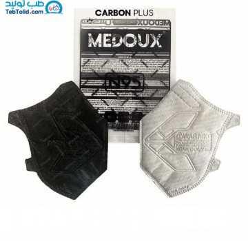 ماسک کربن پلاس N95 بدون سوپاپ مداکس بسته 12 عددی