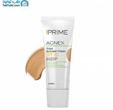 کرم ضد آفتاب رنگی پریم مناسب پوست چرب با SPF 60 حجم 40 میلی لیتر