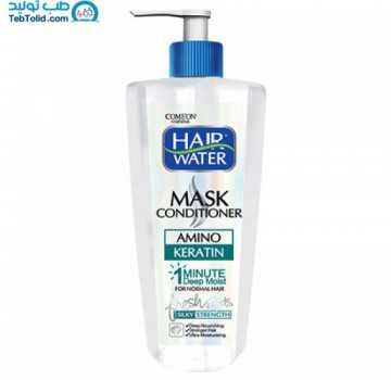 ماسک مو کراتين هيرواتر کامان مناسب موهای معمولی تا کمی چرب حجم