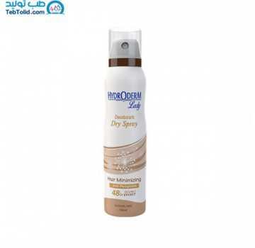 اسپری ضد تعریق کاهش دهنده رشد مو بانوان هیدرودرم حاوی آلوئه ورا