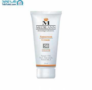 کرم ضد آفتاب SPF50 مدیلن حجم 50 میلی لیتر