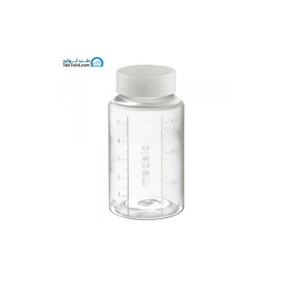 شیشه استریل جهت نگهداری شیر 150 میلی