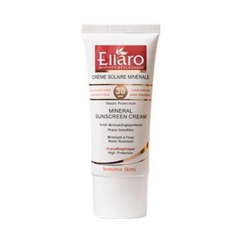 کرم ضد آفتاب الارو مدل Mineral SPF30 مناسب پوست حساس