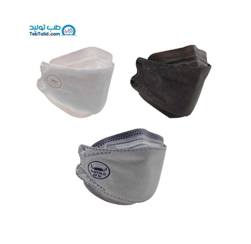 ماسک سه بعدی 3D بوفالو 5لایه بسته 25 عددی