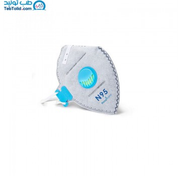 ماسک تنفسی FFP2 سوپاپ دار رسپی نانو